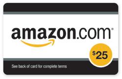 $25.00 Amazon Gift Card FREE