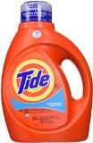 Tide HE Liquid Laundry Detergent, Clean Breeze, 100 Fl Oz