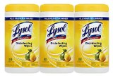 Lysol Disinfecting Wipes, Lemon and Lime Blossom, 240 Count
