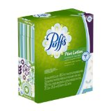Puffs Plus Lotion Facial Tissues; 224 Count; Pack Of 4 Cube Boxes (56 Tissues Per Box) (Pack of 6) Packaging May Vary