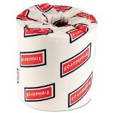 Boardwalk 6180 Bath Tissue, Two-Ply, White, 500 Sheets per Roll (Case of 96)
