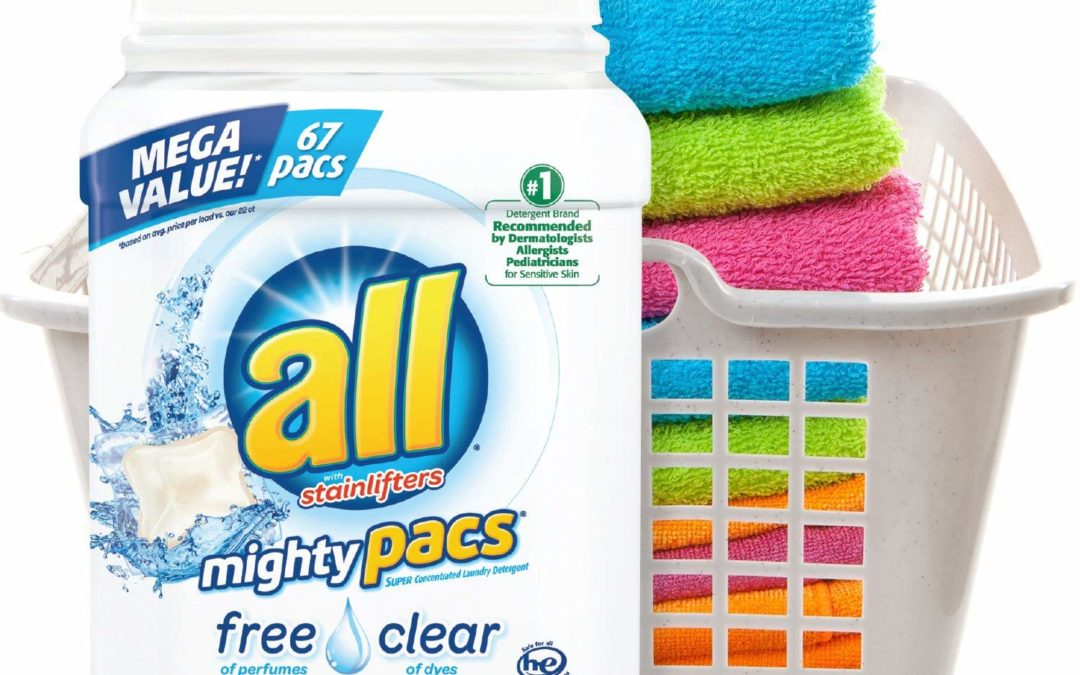 $2 Off All Laundry Detergent Pacs on Amazon!