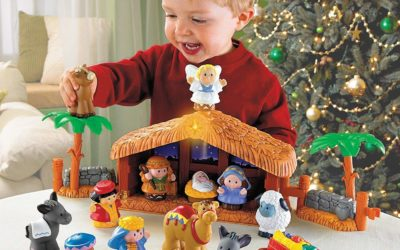 Fisher-Price Little People A Christmas Story only $24.99