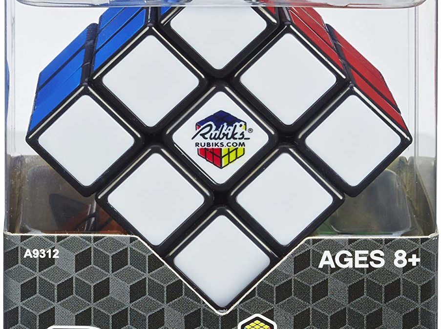Hasbro Gaming Rubik's 3X3 Cube for only $3.49!!