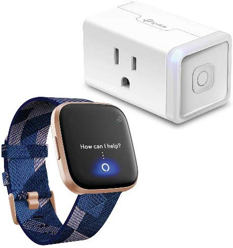 Fitbit Versa 2 Special Edition Health & Fitness Smartwatch with TP-Link HS105 Smart Plug for $229.95 (reg. $251.89) – Today Only