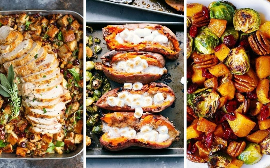 Thanksgiving Dinner for Two – Sheet Pan Thanksgiving Recipes – 7 Low Budget Thanksgiving Meal Ideas