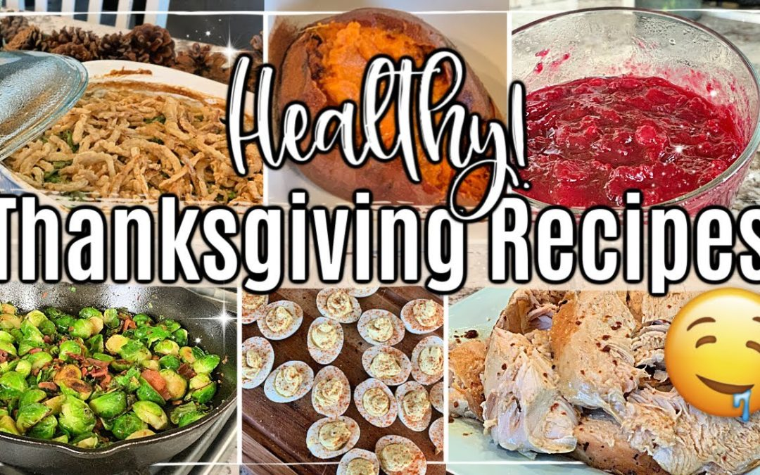 HEALTHY! THANKSGIVING RECIPES + HOLIDAY MENU IDEAS :: DAIRY FREE + GLUTEN FREE RECIPES :: HOMEMAKING