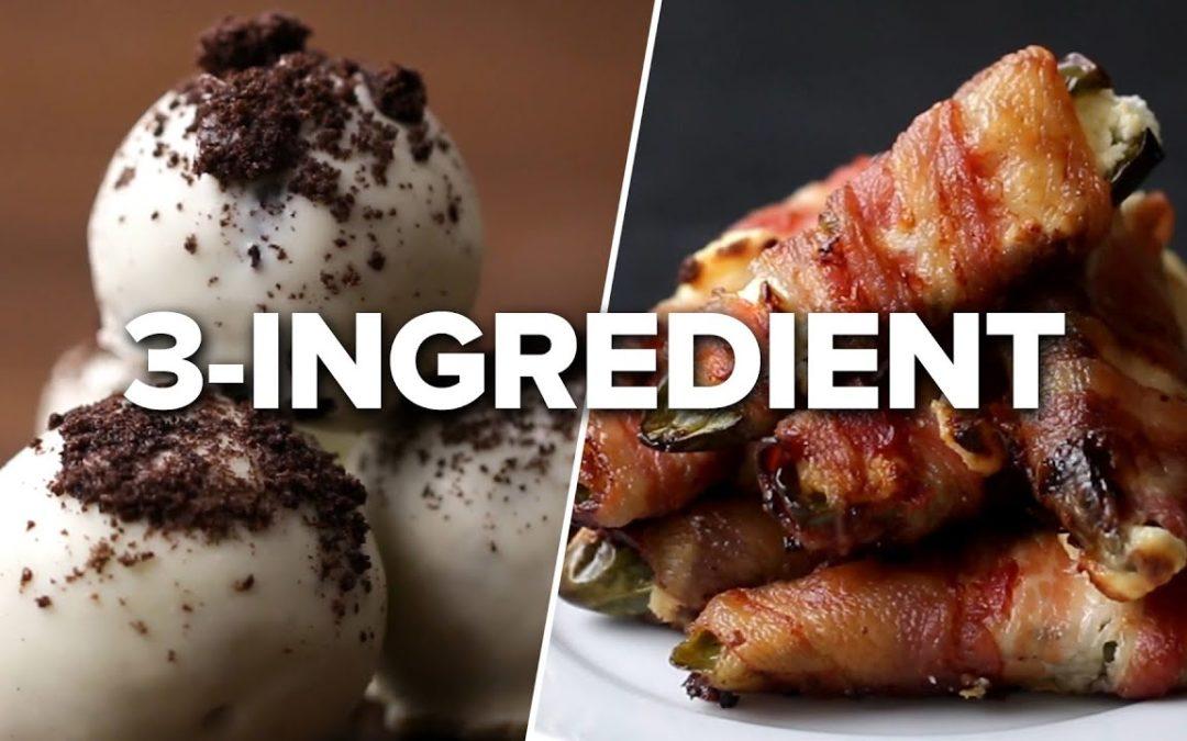 43 Easy 3-Ingredient Recipes