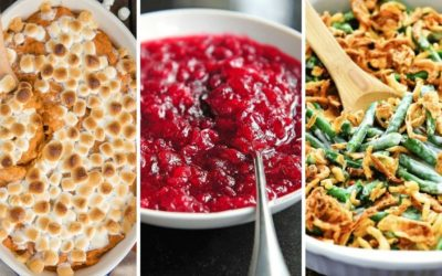 7 MUST HAVE Classic Thanksgiving Side Dish Recipes | Easy Thanksgiving Side Dishes