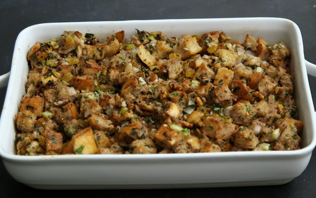 No-Fail Signature Thanksgiving Stuffing – Kitchen Conundrums with Thomas Joseph