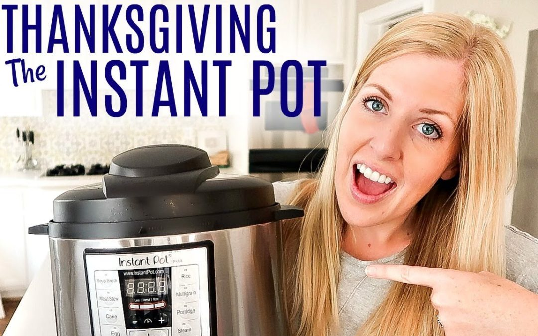 4 EASY Instant Pot Thanksgiving Recipes – Perfect for Beginners!