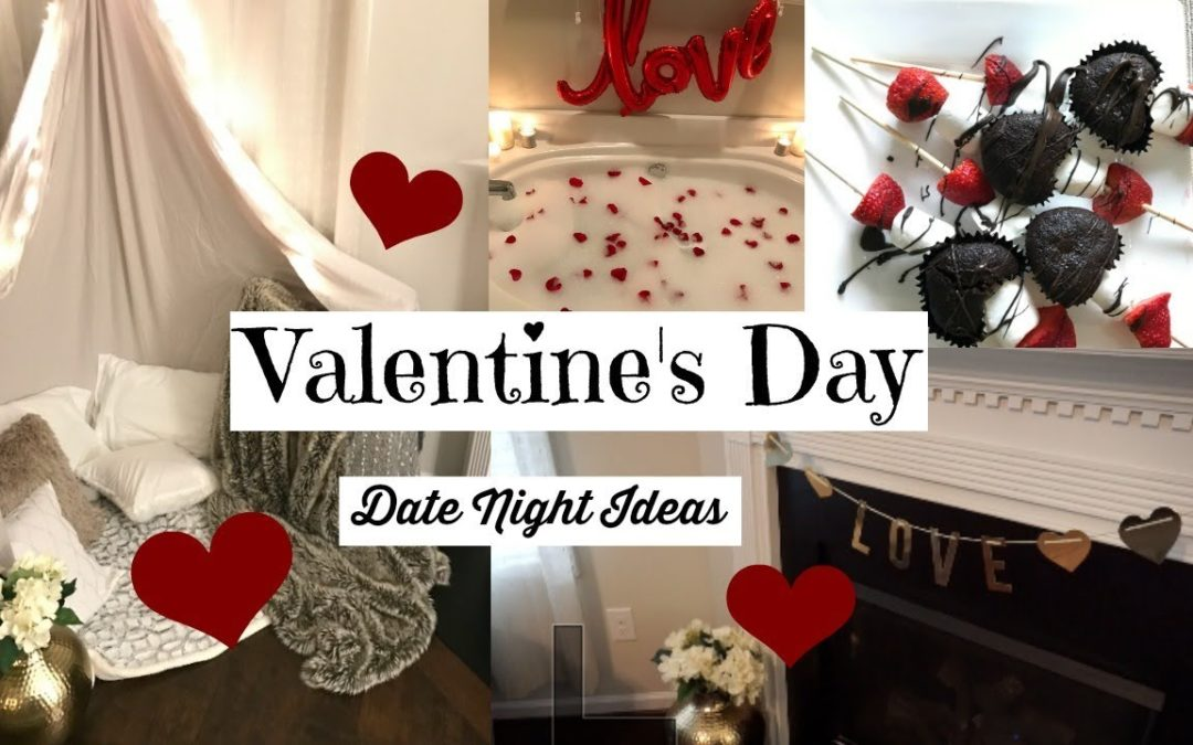 The BEST Valentine's Day at Home | 3 Dates, DIYs & Recipes!