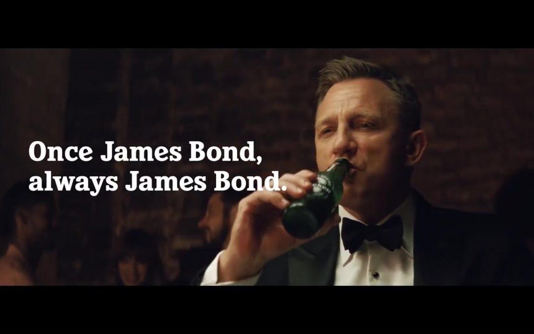 Daniel Craig vs James Bond Heineken Super Bowl Commercial 2020