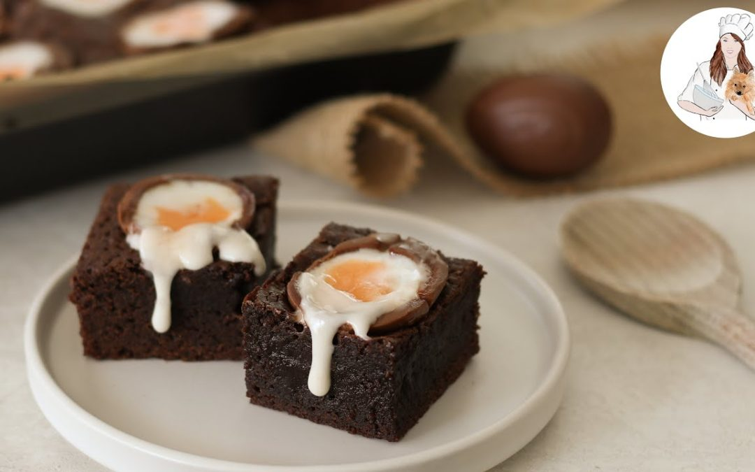 Easter Creme Egg Brownies Recipe
