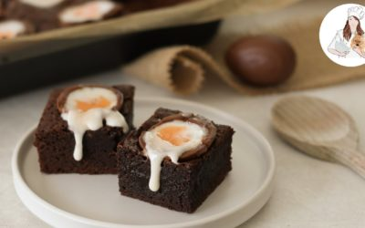 Easter Creme Egg Brownies Recipe