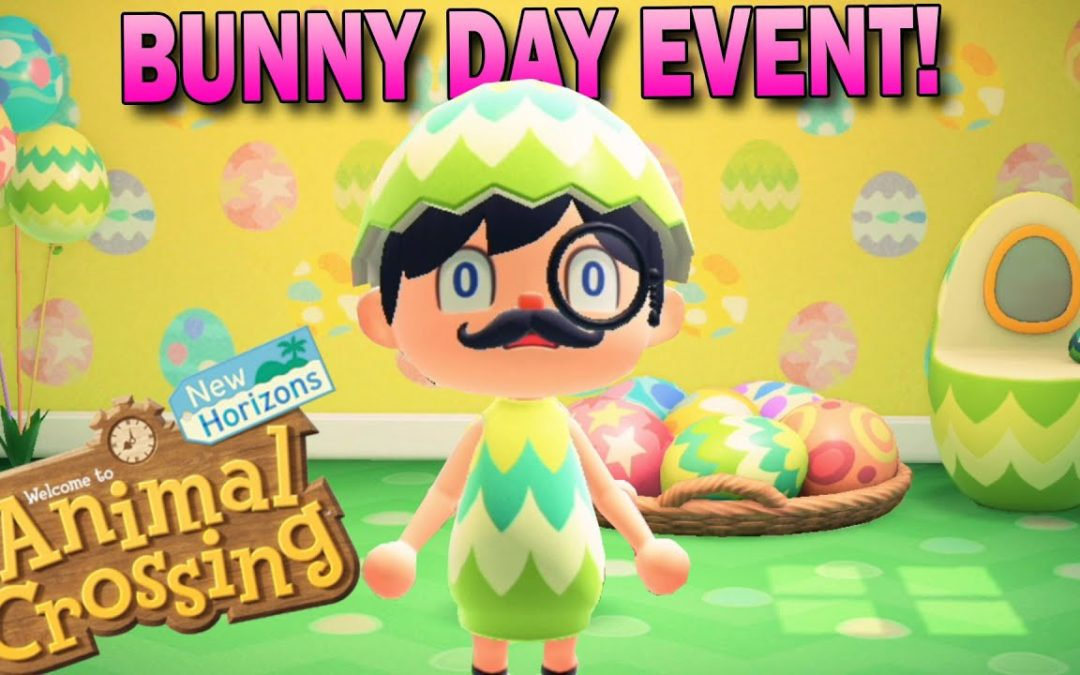 Bunny Day Event Is Here! How To Get All Eggs & Recipes! Animal Crossing New Horizons Easter Events