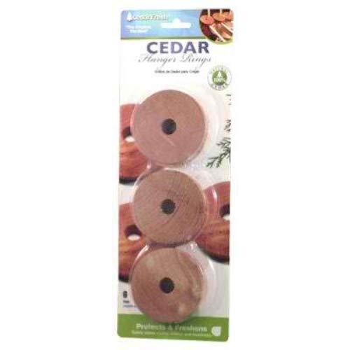 Cedar Fresh 14306 Cedar Hanger Rings