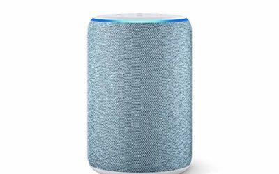 Echo (3rd Gen) – Smart speaker with Alexa – Twilight Blue
