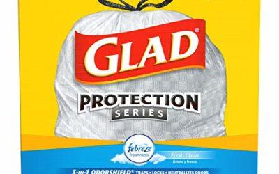 Glad Tall Kitchen Trash Bags, 13 Gal, 110 Ct