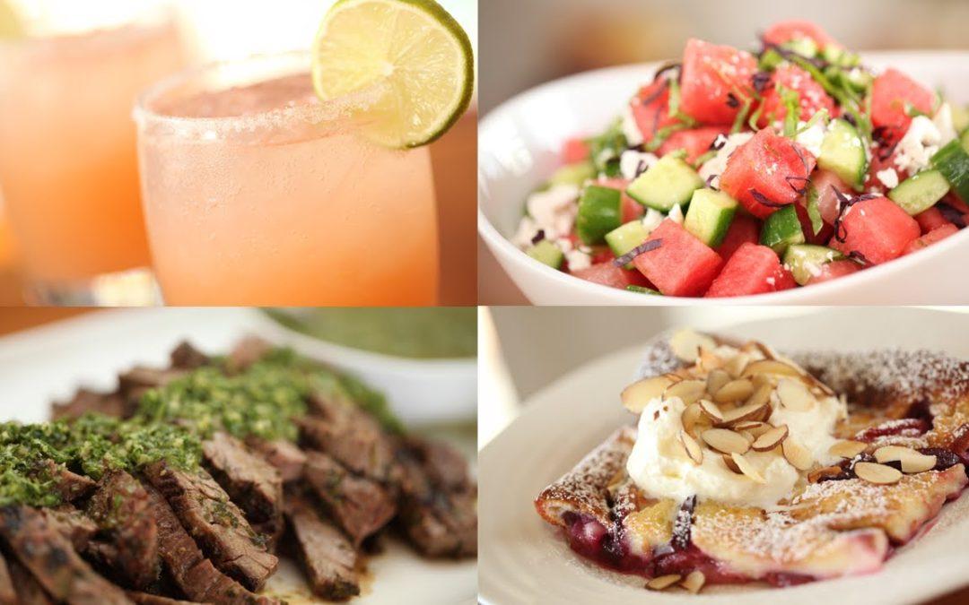 5 Summer Dinner Party Recipes
