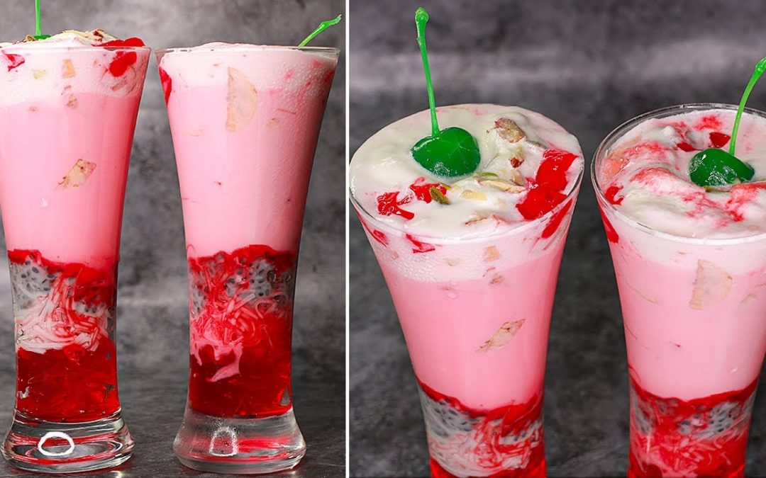 Easy Royal Falooda Recipe  | Summer Drinks Recipe | Yummy