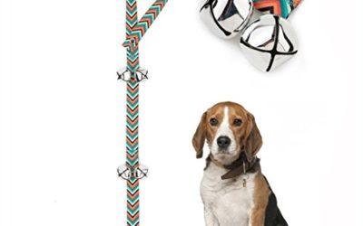 Pet Heroic Dog DoorBells for Potty Training & House Training, Unique Style & Premium Quality, Loud & Crisp DoorBells, Adjustable Door Bell Length for Small, Medium and Large Dogs