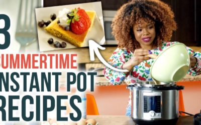 3 SIMPLE Instant Pot Recipes for Summer – For Cooking BEGINNERS – HGTV Handmade