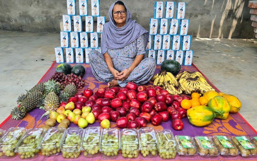 FRUIT CUSTARD FOR SUMMER | FRUIT RECIPES | HEALTHY DESSERT RECIPE | SUMMER RECIPES | INDIAN RECIPES