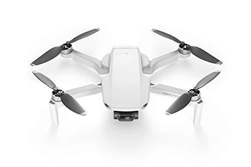 DJI Mavic Mini – Drone FlyCam Quadcopter UAV with 2.7K Camera 3-Axis Gimbal GPS 30min Flight Time, less than 0.55lbs, Gray