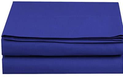 Elegant Comfort Luxury Fitted Sheet on Amazon Wrinkle-Free 1500 Thread Count Egyptian Quality 1-Piece Fitted Sheet, Queen Size, Royal Blue