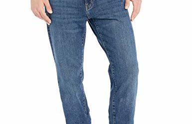 Amazon Essentials Men's Athletic-Fit Stretch Jean, Vintage Light Wash 31W x 28L