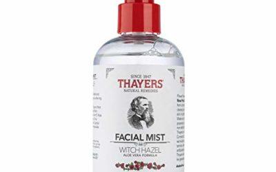 Thayers Alcohol-Free Rose Petal Witch Hazel Facial Mist Toner – 8oz