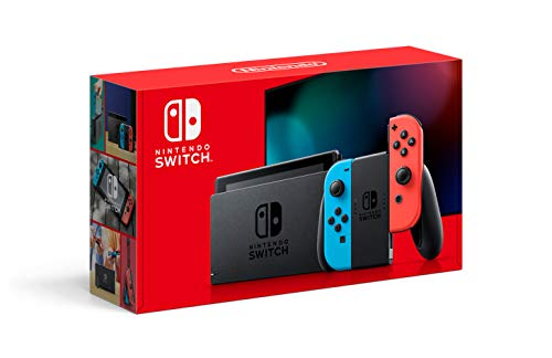 Nintendo Switch with Neon Blue and Neon Red Joy‑Con – HAC-001(-01)