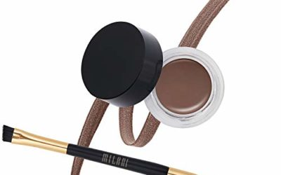 Milani Stay Put Brow Color – Dark Brown (0.09 Ounce) Vegan, Cruelty-Free Eyebrow Color that Fills and Shapes Brows