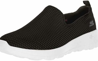 Skechers Women's Go Walk Joy Walking Shoe,black/white,7.5 M US