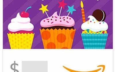Amazon eGift Card – Birthday Cupcakes