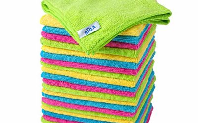 """MR.SIGA Microfiber Cleaning Cloth, Pack of 24, Size:12.6"""" x 12.6"""""""