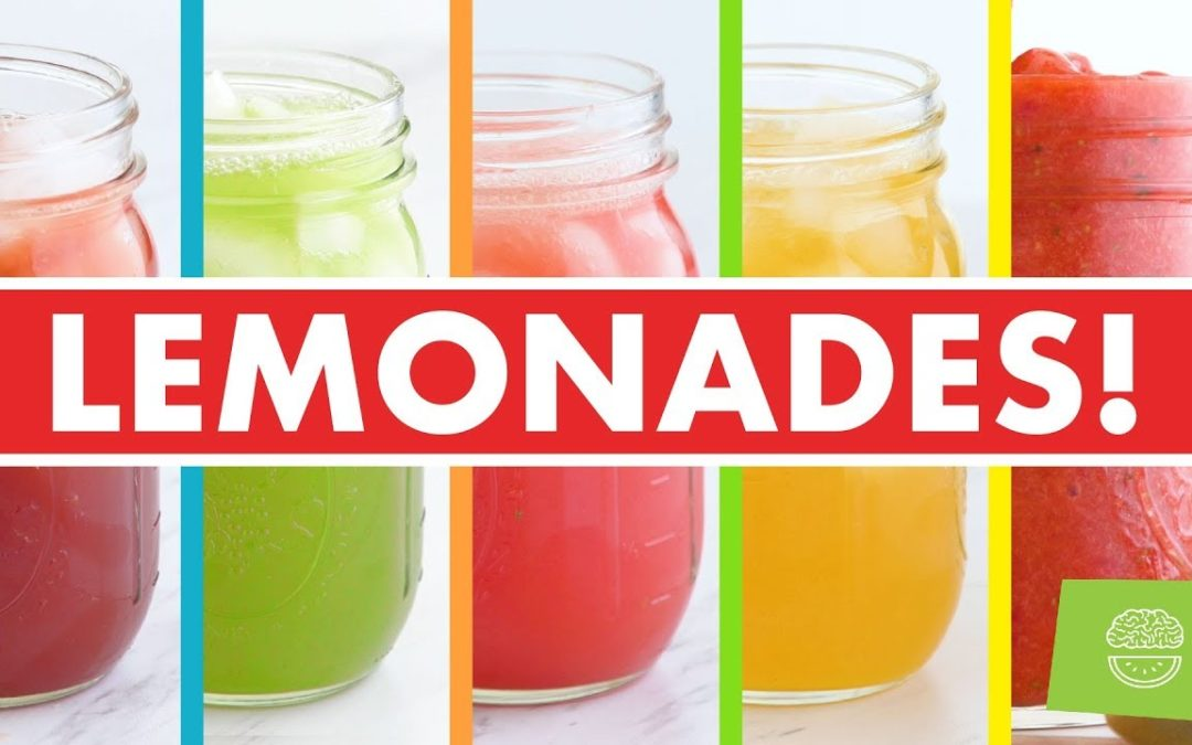 Healthy Homemade Lemonades, Iced Teas + Popsicles for Summer Recipes!  – Mind Over Munch