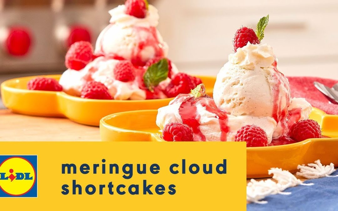 How to Make Meringue Cloud Shortcakes 🍨☁️🍰| Summer Recipes | Lidl US