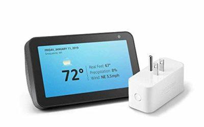 Echo Show 5 Charcoal with Amazon Smart Plug