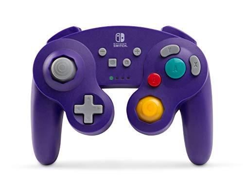 PowerA Wireless GameCube Style Controller for Nintendo Switch – Purple