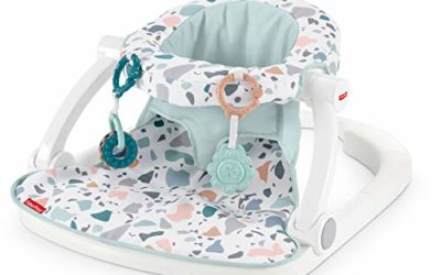 Fisher-Price Sit-Me-Up Floor Seat – Pacific Pebble, Infant Chair
