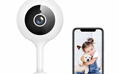 WiFi Camera Indoor, Goowls 1080p HD Home Security Camera 2.4GHz Wired IP Dog Camera for Baby/Pet/Nanny with Motion Detection Night Vision 2-Way Audio Cloud & SD Card Storage Compatible with Alexa