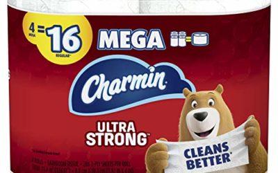 Charmin 4 Mega Rolls
