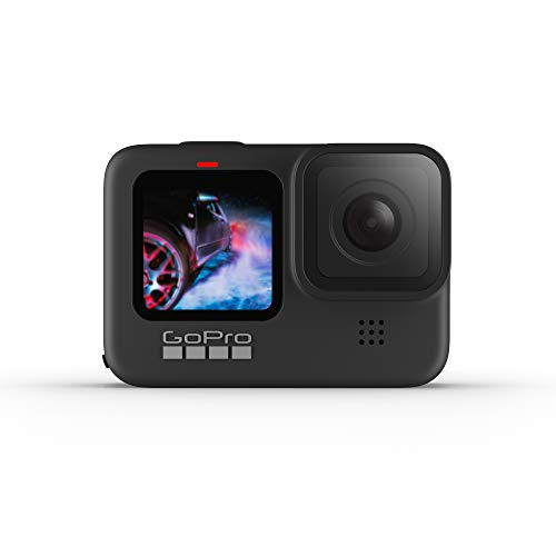 New GoPro HERO9 Black – Waterproof Action Camera with Front LCD and Touch Rear Screens, 5K Ultra HD Video, 20MP Photos, 1080p Live Streaming, Webcam, Stabilization
