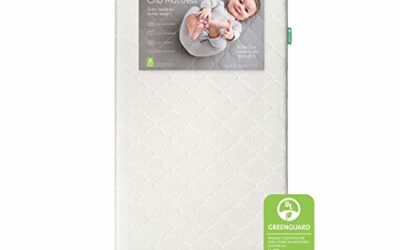 Newton Baby Crib Mattress and Toddler Bed – Waterproof – 100% Breathable Proven to Reduce Suffocation Risk, 100% Washable, Hypoallergenic, Better Than Organic, 2-Stage Removable Cover Included- White