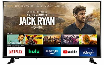 All-New Insignia NS-43DF710NA21 43-inch Smart 4K UHD – Fire TV Edition, Released 2020