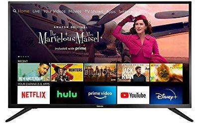 All-New Toshiba 32LF221U21 32-inch Smart HD 720p TV – Fire TV Edition, Released 2020
