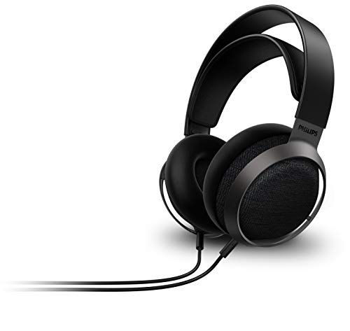 Philips Fidelio X3 Wired Over-Ear Open-Back Headphones, Multi-Layer 50mm diaphragms, Hi-Res Certified, Premium Finishing – Hear The Difference