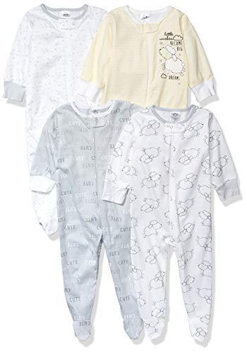 Gerber Baby 4-Pack Sleep N' Play, Sheep, Newborn